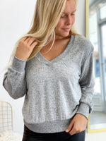 THE MARLED TWIST BACK SWEATER
