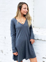 THE COTTON SLUB CLARINGTON DRESS