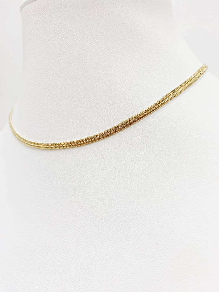 3mm Snake Chain Choker