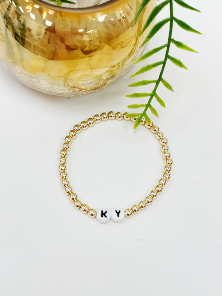 "Lana Loy ""KY""- Gold Beads"