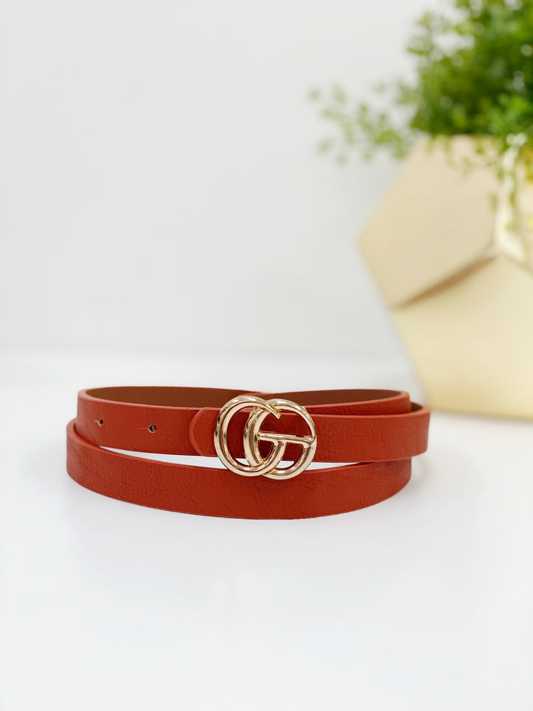 Mini Belt- Brown