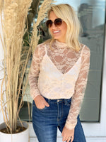 Lost In Love Lace Top