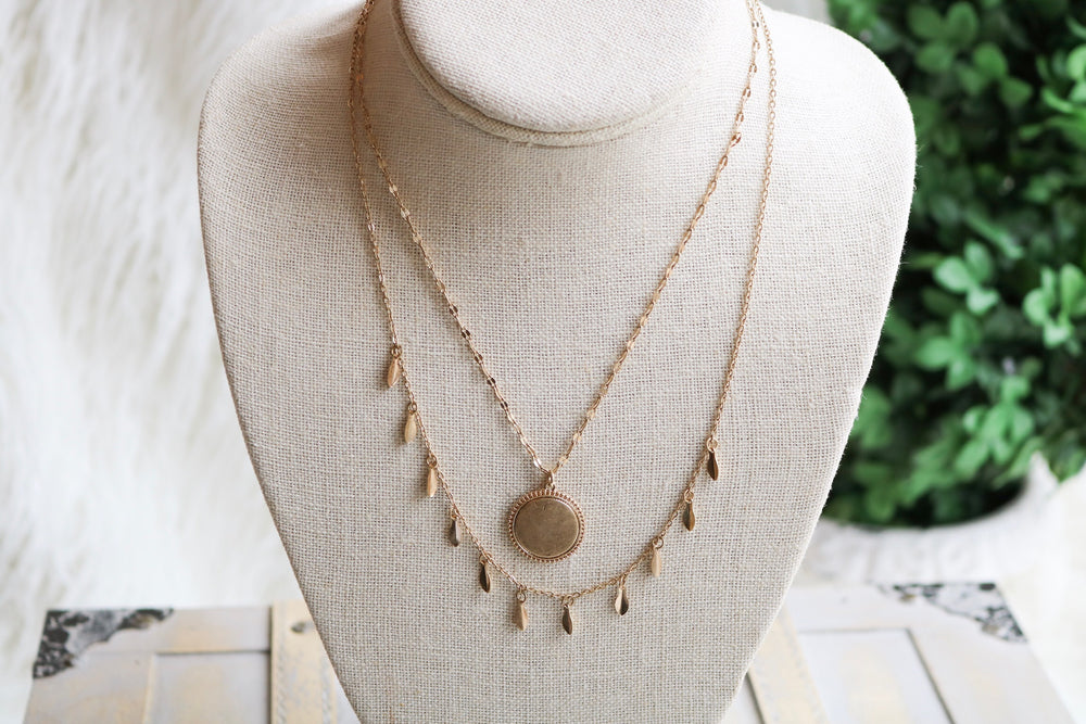 NEW JEWELRY WHO DISC NECKLACE