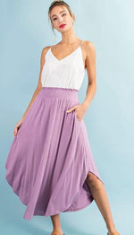 Island Time Skirt - Lavender
