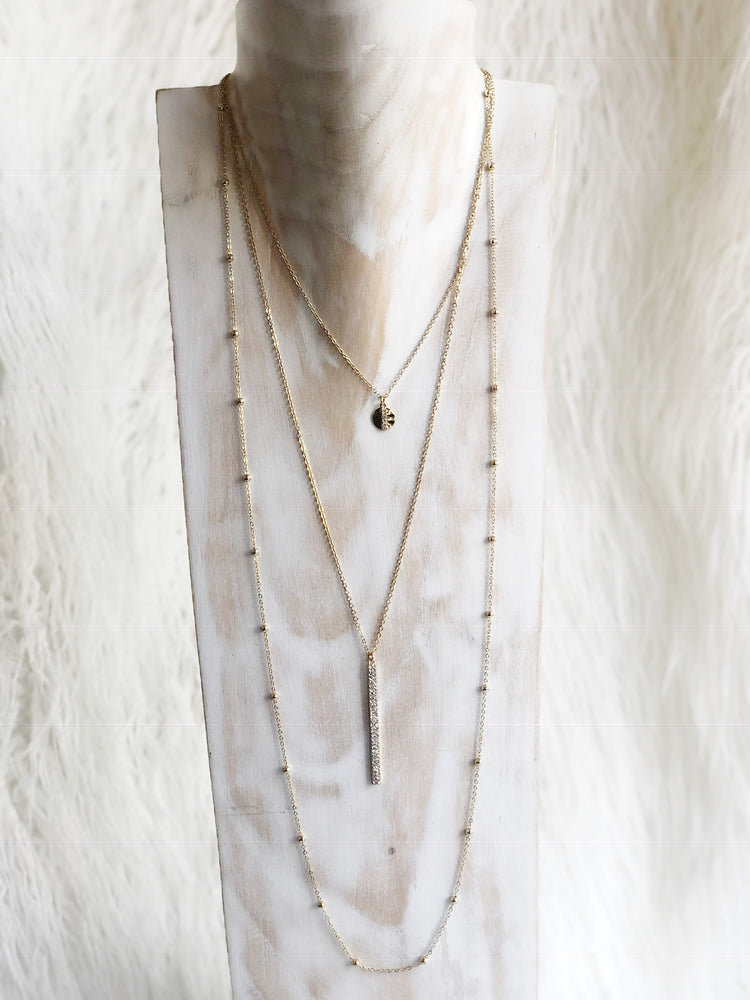 KIND OF FANCY LAYER NECKLACE