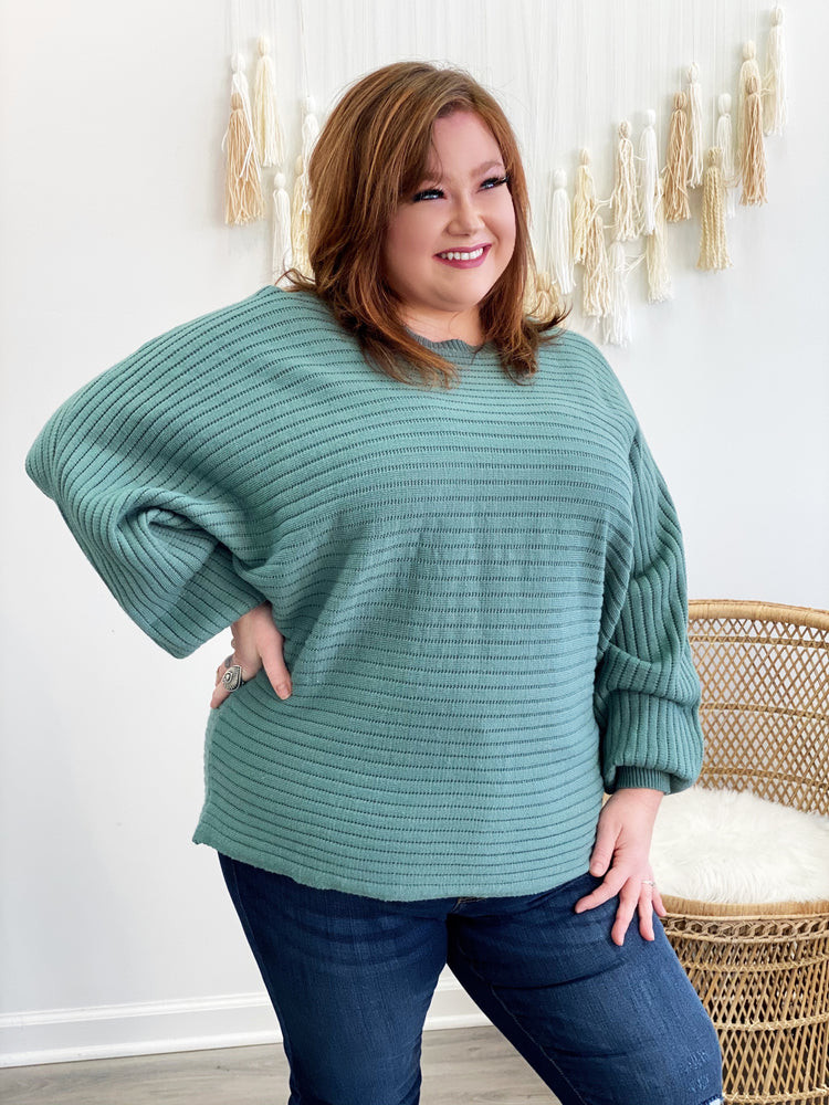 Angel Dream Sweater- Sage