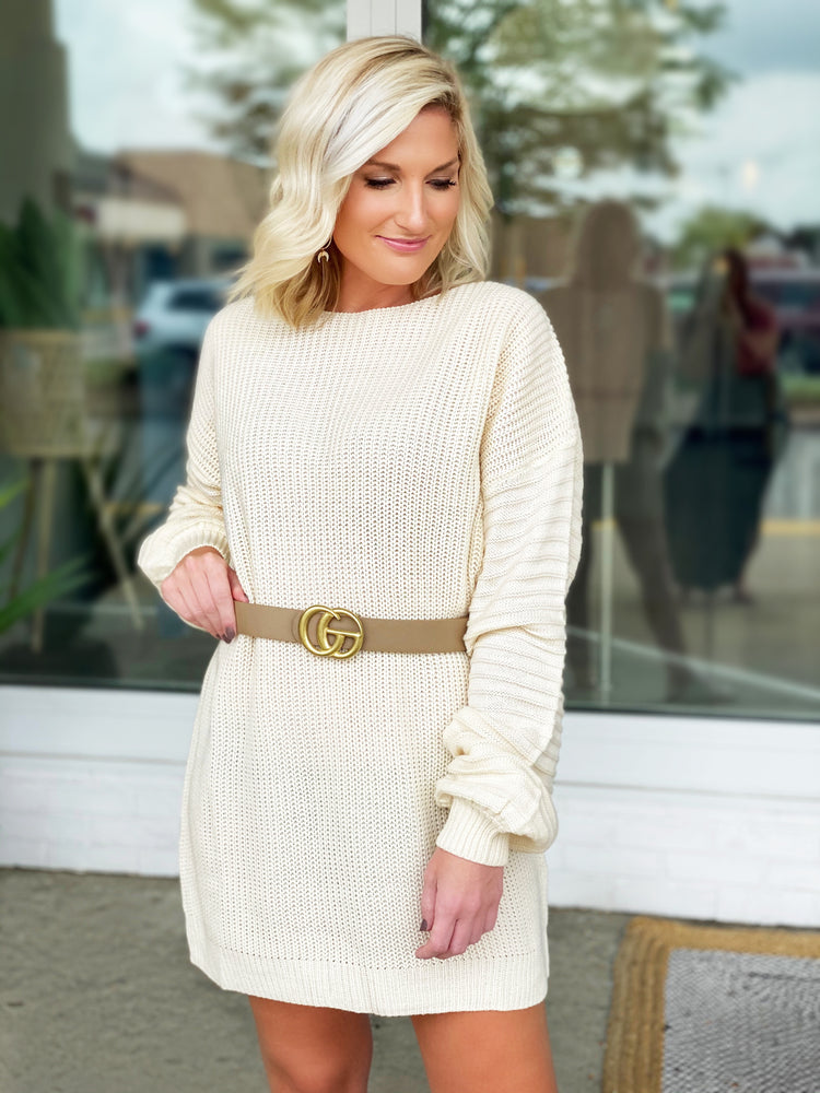 Susan Sweater Dress