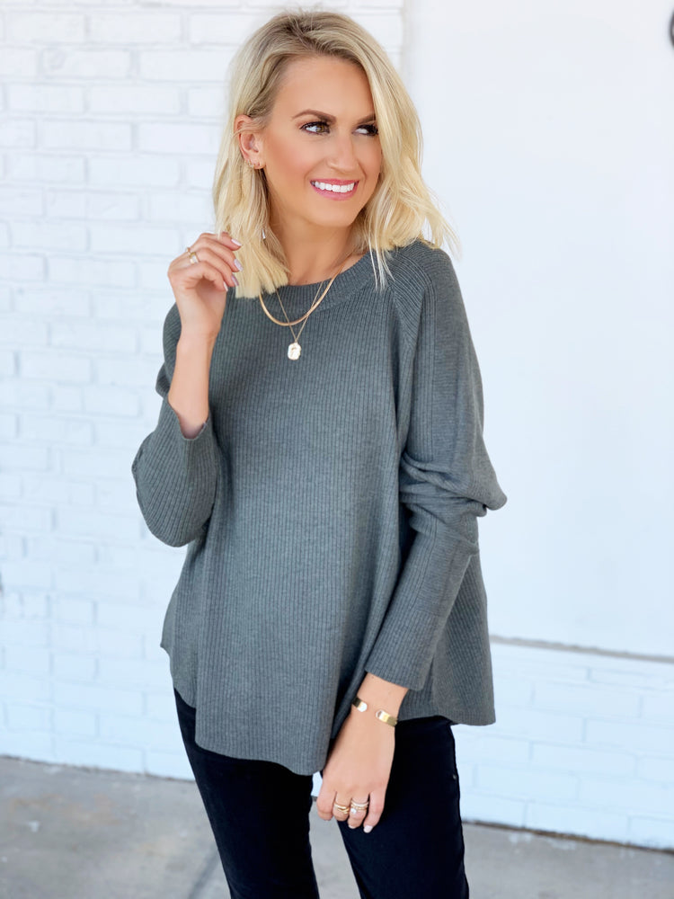 Feel The Chill Top- Grey