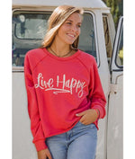 Live Happy Pullover