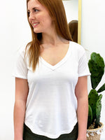 The Organic Cotton VNeck Tee