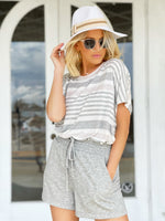 CiCi Striped Tee