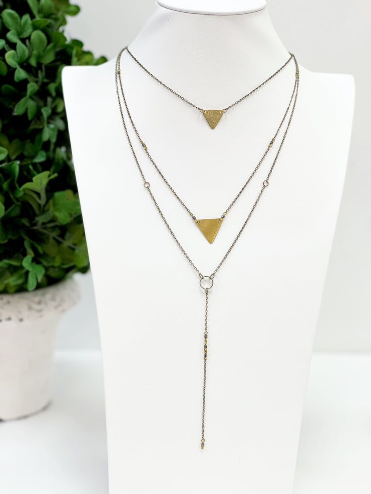 Work The Angles Necklace