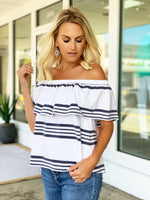 Avalon Stripe Top