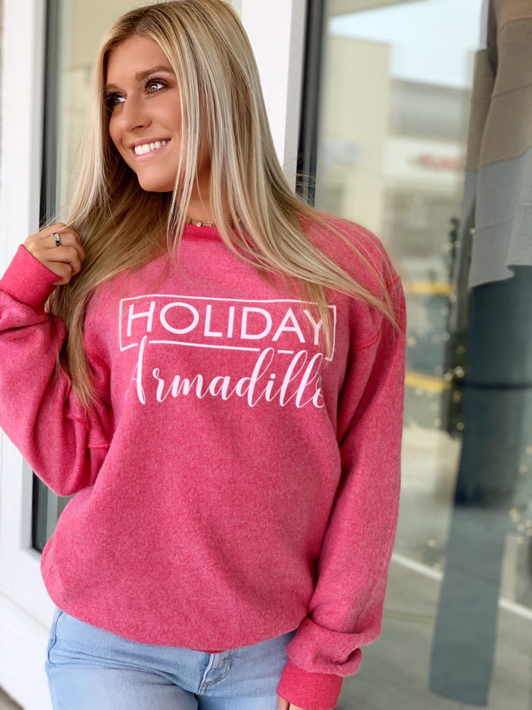 HOLIDAY ARMADILLO SWEATSHIRT