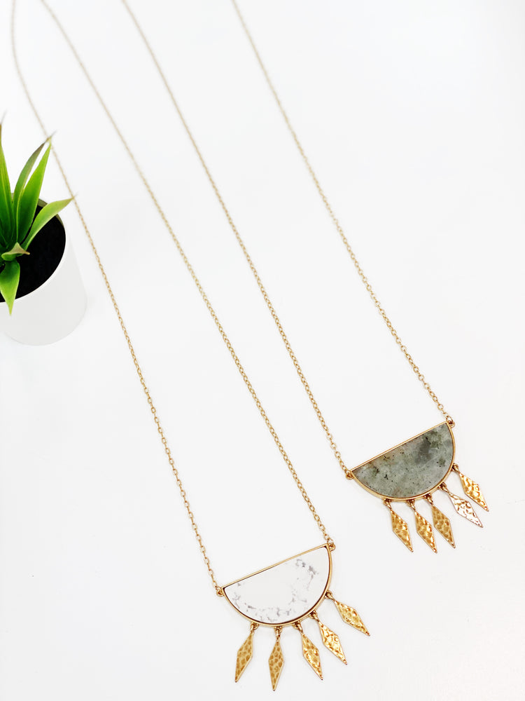 Ahead Of The Curve Necklace
