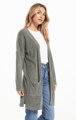 Remi Feather Knit Cardigan