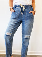 Shawna Denim Jogger