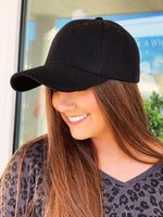 Get It Baseball Cap- Black