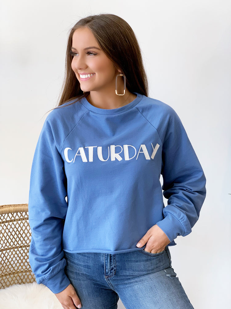 CATURDAY SWEATSHIRT