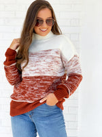 Gabby Sweater- Rust