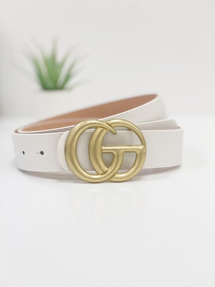 The Belt- White