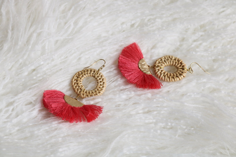 FRENCH WICK EARRING