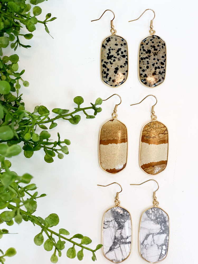 SET IN STONE EARRING
