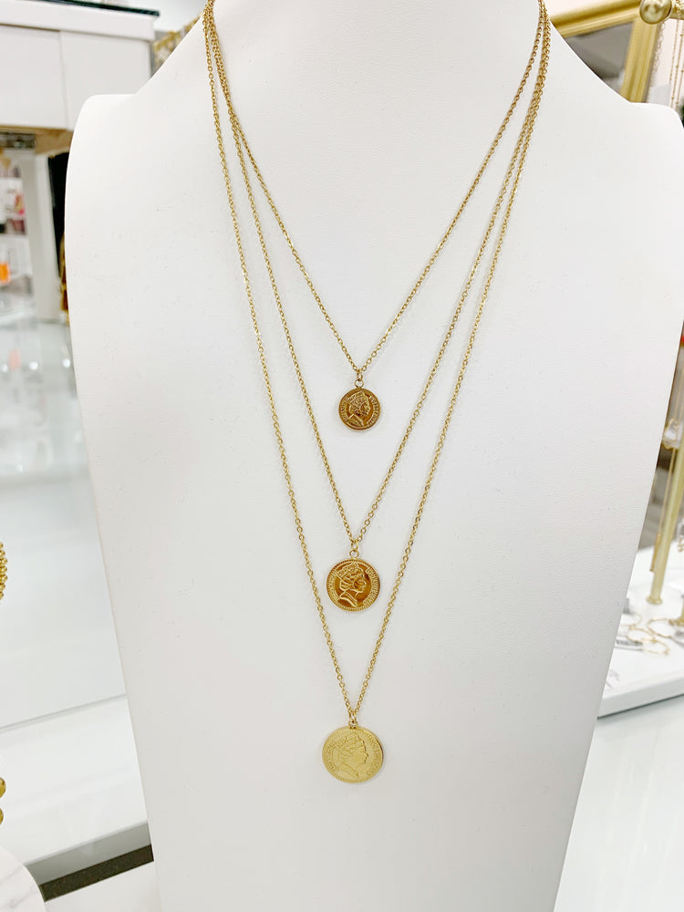 Pesos Necklace