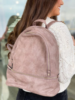 Blake Backpack- Warm Taupe