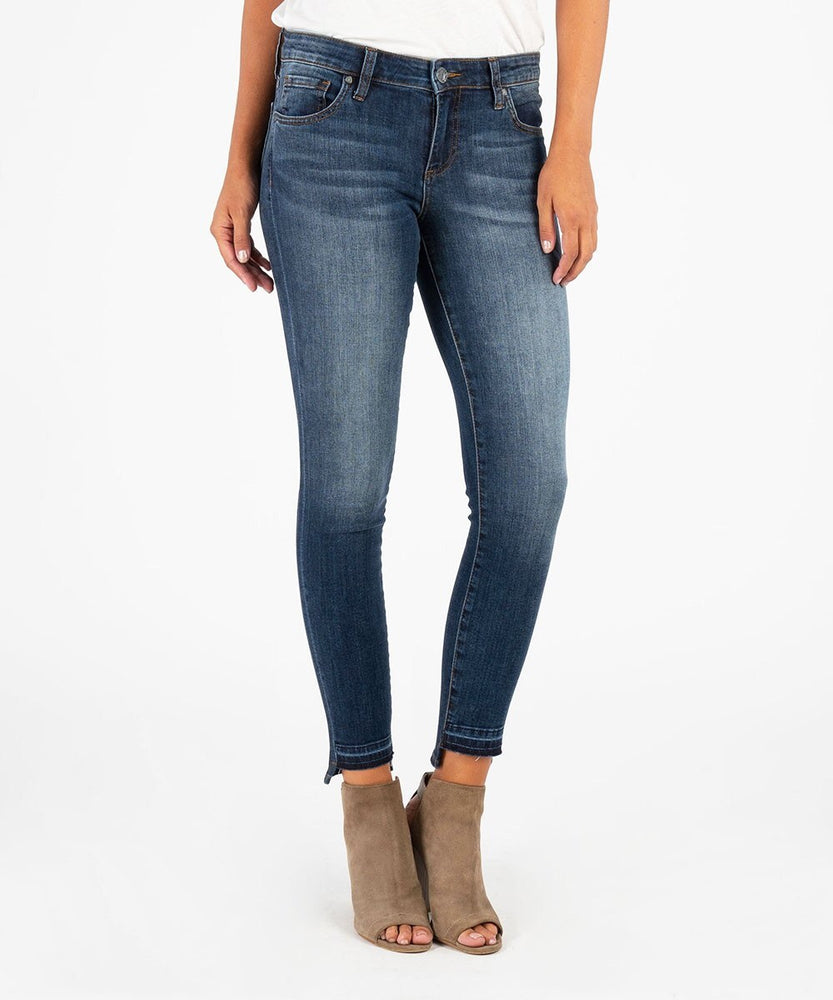 CONNIE ANKLE SKINNY RELEASE HEM