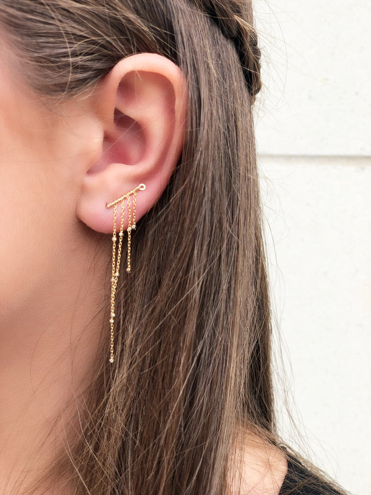 PROVENCE WATERFALL EARRING