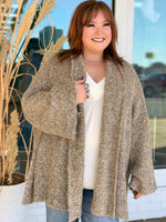 The Best Cardigan- Taupe
