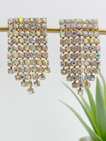 IRIDESCENT CHANDELIER EARRINGS