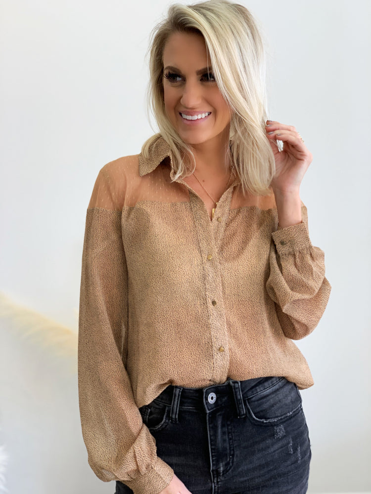 Sneakin' Around Blouse