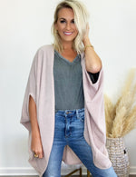 Hanging On Cardigan- Oatmeal