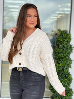 The Moment Cardigan-Ivory