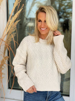 Katie Knit Sweater- Ivory