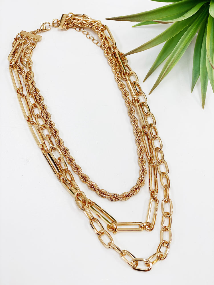 MULTI ROW CHAIN CHOKER