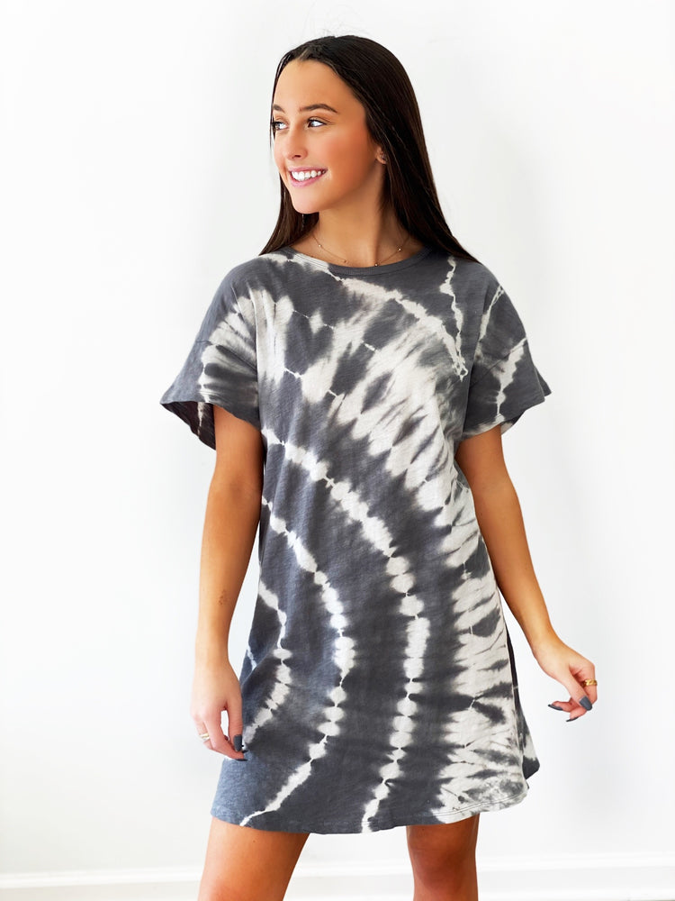 Launa Swril Tie- Dye Dress