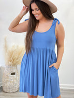Gayla Dress- Blue