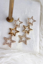 MULTI STAR EARRING