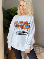 SEC Family Sweatshirt-Ash