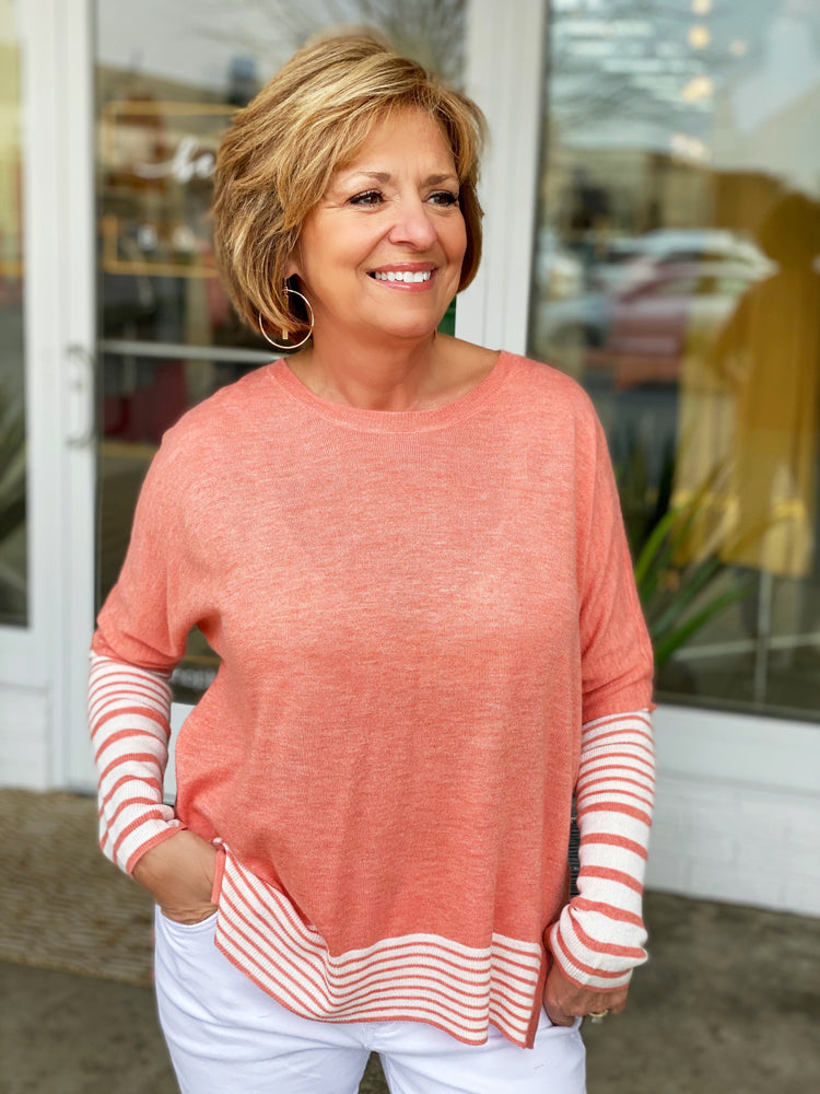 ATLANTIC STRIPE SWEATER
