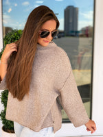 Sparrow Cowl Neck Sweater