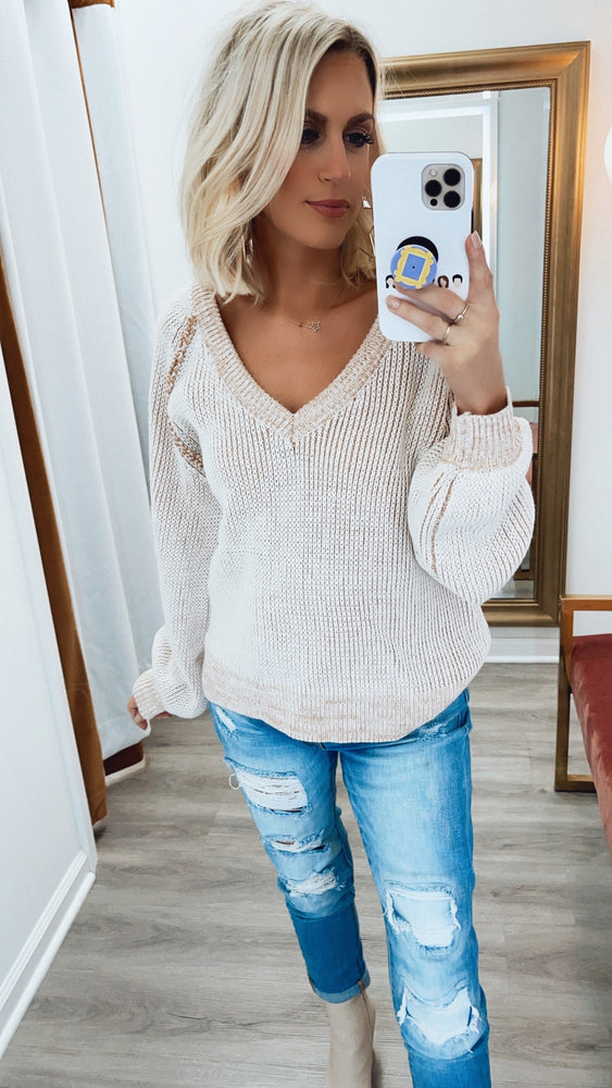Camila Sweater- Taupe