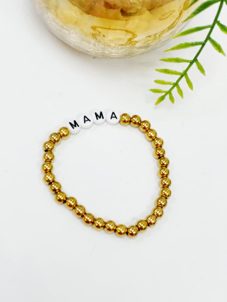 "Lana Loy ""Mama""- Brass Beads"