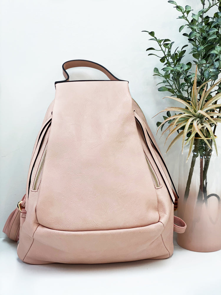 Josie Backpack- Blush