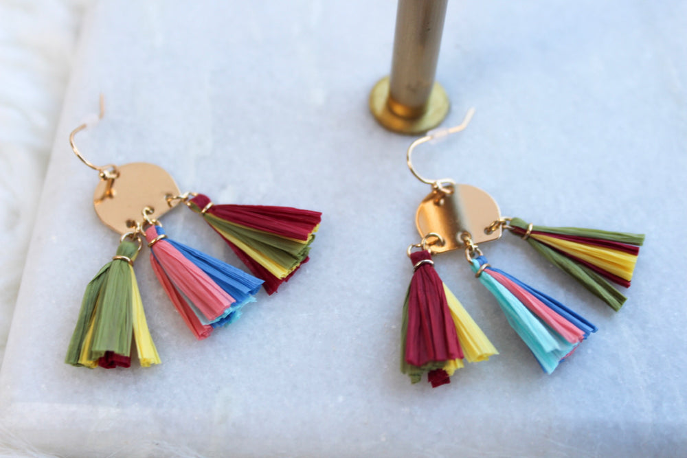 PAID VACATION EARRING