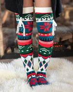 Alpine Thigh Hight Boot Socks