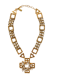 Crystal Jett necklace <br> RRP $460 <br> now 55% off <br> SALE PRICE $207